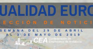Selección de titulares portal EEN de la CEA